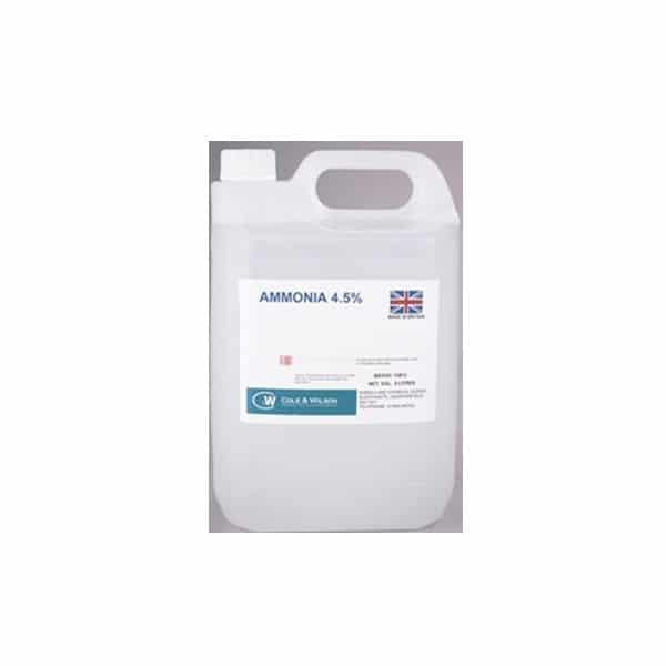 Ammonia 4.5% 5 litres