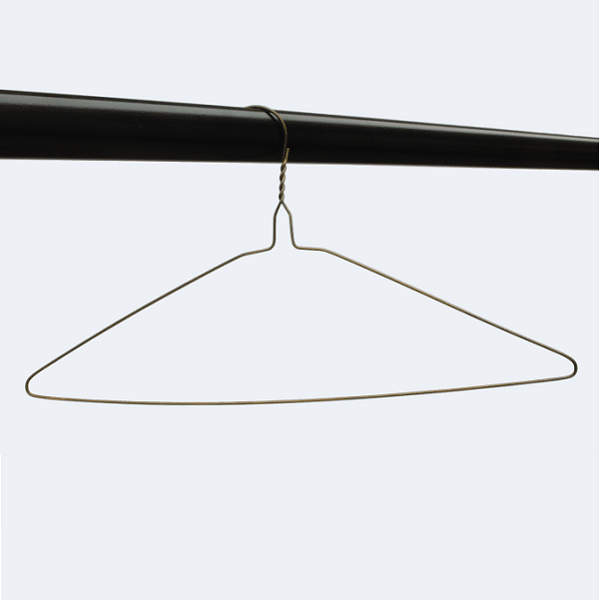 Bronze plain wire hangers 16 inches 13 gauge