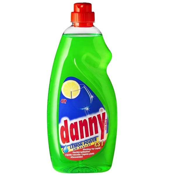 Professional Washing Up Liquid Danny Lemon Power 1.5 litres ONLY €1.20+VAT!