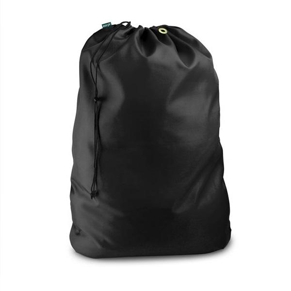 Drawstring Laundry Bag Black 30 inches x 40 inches