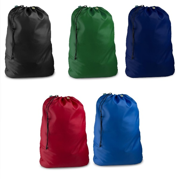 Drawstring Laundry Bags 30 inches x 40 inches with secure closure
