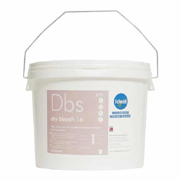 Dry Bleach 16% Strength Chlorine Bleach Powder Stain Remover 25kg from Ideal Manufacturing