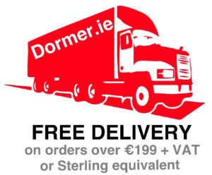 Free Delivery on orders over €199 on Dormer.ie