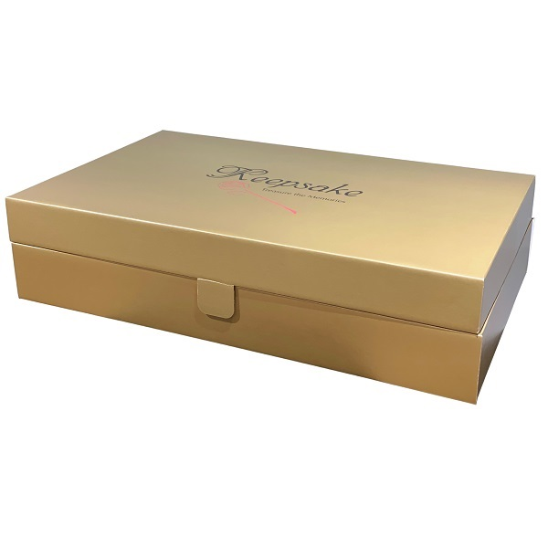 Gold Wedding Dress Boxes