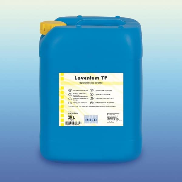 Lavenium TP Carpet Cleaning Machine Detergent 10 litres from Buefa