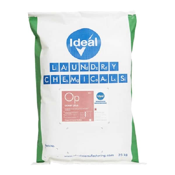 Ocean Plus 10kg Non-Biological Washing Powder with built in Fabric Conditioner 10kg from Ideal Manufacturing
