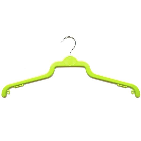Plastic Shirt Hangers BB45 Green