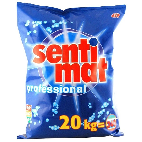 Sentimat Professional Biological Washing Powder 20kg from Roesch