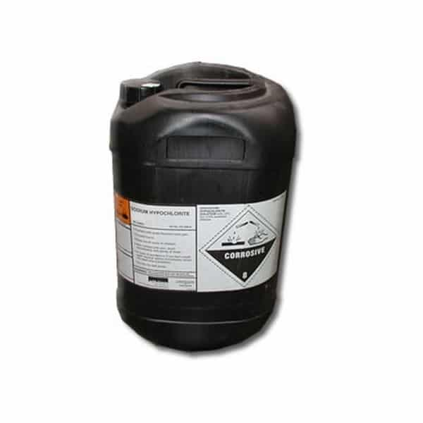 Sodium Hypochlorite Liquid 14% to 15% 31kgs 25 litres