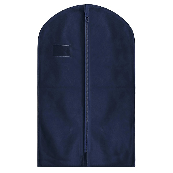 Suit Garment Covers Navy Blue 54 inches