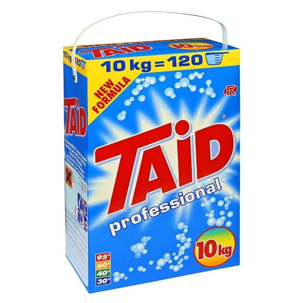 Taid Professional 10kg Non Biological Washing Powder from Roesch