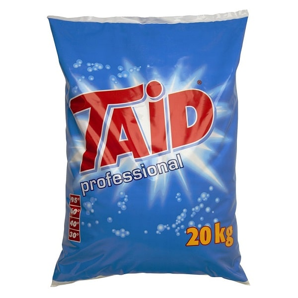 Taid Professional 20kg Commercial Non Biological Washing Powder from Roesch