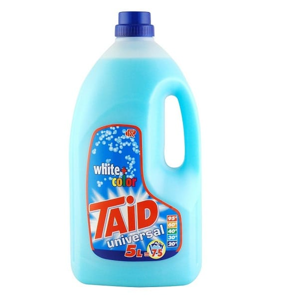 Taid White and Colour Non Biological Liquid Laundry Detergent 5 litres from Roesch