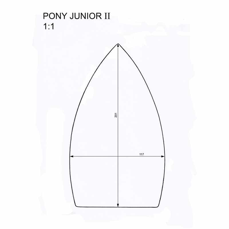 Pony Junior 2 iron shoes