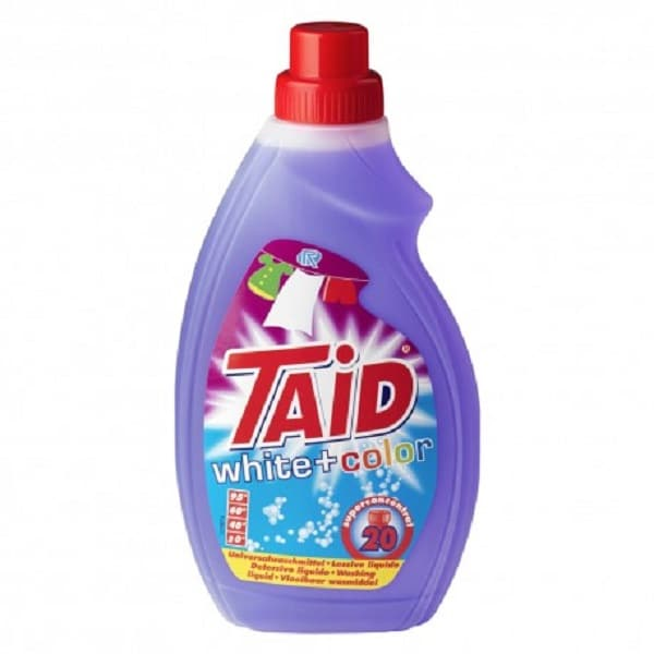 Taid White+Colour 740ml Liauid Laundry Detergent ONLY €1.99+VAT!