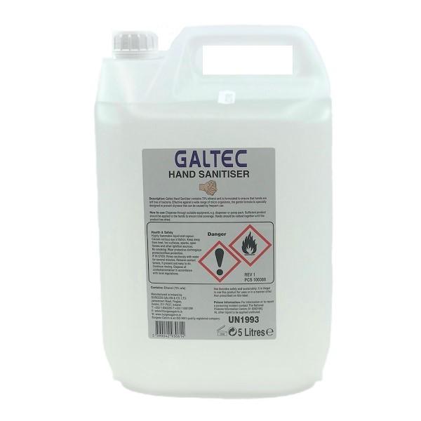 Hand Sanitiser 5 litre Liquid Ireland